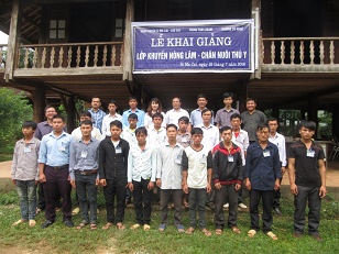 Ecological Farming training course launched for young Ethnic Minority farmers in Simacai, Lao Cai