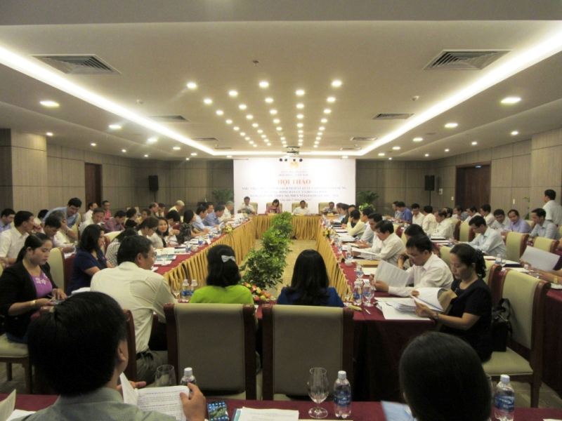 National workshop on Implementation of laws and policies on land and forest allocation to ethnic minority communities and households in the period of 2006 - 2016