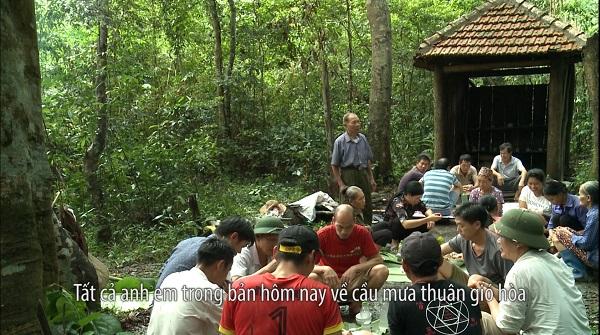 Lễ cúng rừng thiêng của người Tày thôn Khe Váp xã Bắc Lãng, Đình Lập (Lạng Sơn)