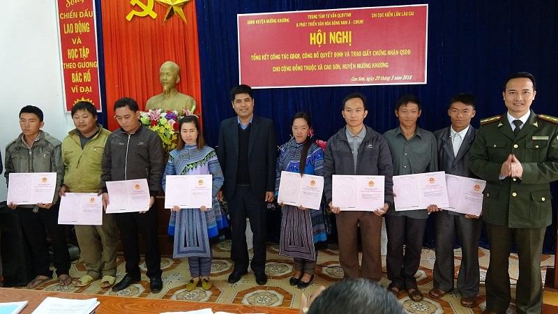 Phương pháp luận tiếp cận GĐGR dựa vào cộng đồng ở xã Cao Sơn, huyện Mường Khương, tỉnh Lào Cai